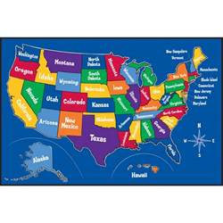 us map rug free map of the united states for