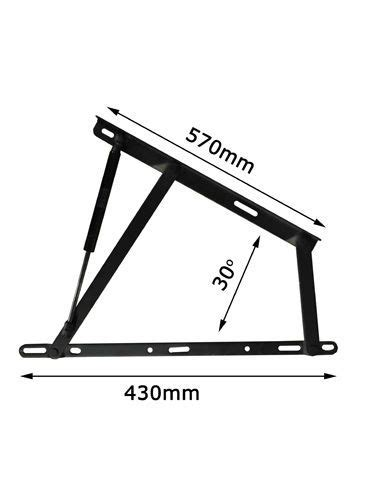 Ottoman Bed Hinges Details About Standard Ottoman Storage Bed Lift Up Hinge Mechanism Gas Strut Ottoman