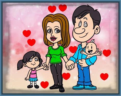 imagenes animadas de una familia feliz imagen animada de una familia feliz archivos imagenes de