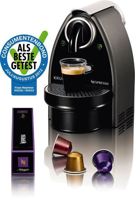 hoeveel bar voor espresso bol krups nespresso apparaat essenza automatic