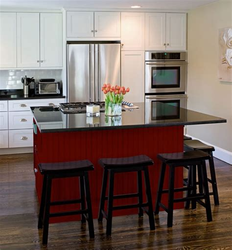 shaker kitchen cabinets rockford door style cliqstudios contemporary kitchen black and