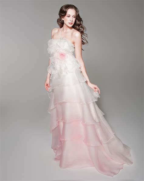 Pink Wedding Dress by Pink Wedding Dress Dressed Up