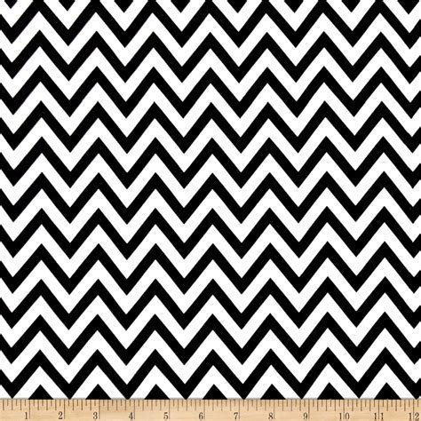 black and white zigzag pattern blossom chiffon zig zag white black discount designer