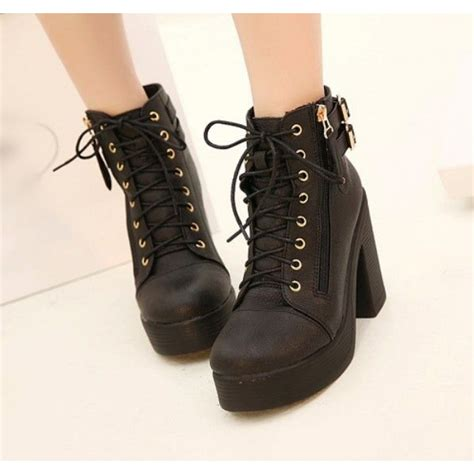 lace up chunky heel boots the page you requested cannot be found