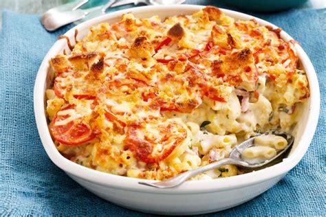 pasta bake recipes seafood pasta bake recipe food next recipes