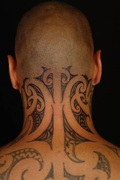 tribal tattoo on neck maori tattoos designs ideas and meaning tattoos for you