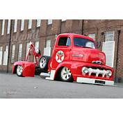 1951 Ford COE Tow Truck Lowrider Custom Tuning Towtruck Emergency