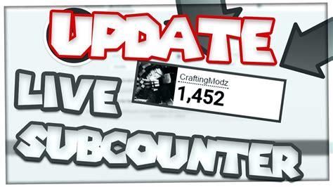 tutorial youtube live tutorial youtube live counter update video rici youtube