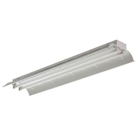 Lithonia Lighting 2 Light White Fluorescent Industrial