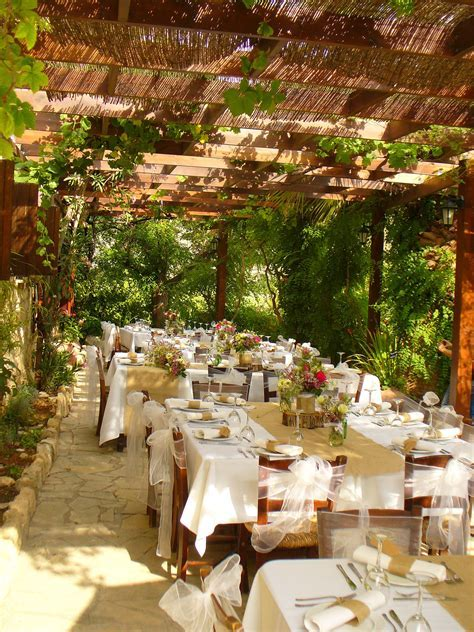 Our vine covered terrace offered to you exclusively for