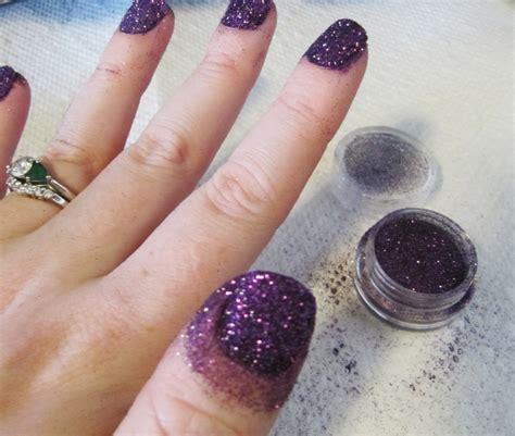 Nails Glitter glitter nails eyemasq