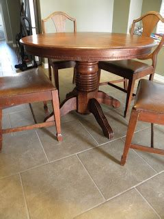 that pay the table on craigslist the montgomery makeover pedestal table