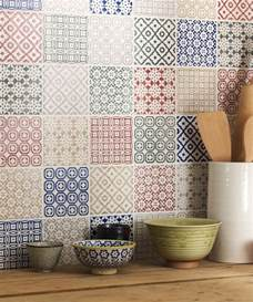 Supérieur Carrelage Colore Salle De Bain #1: 0-carrelage-mural-castorama-pour-la-cuisine-moderne-avec-mur-de-carrelage-coloré.jpg