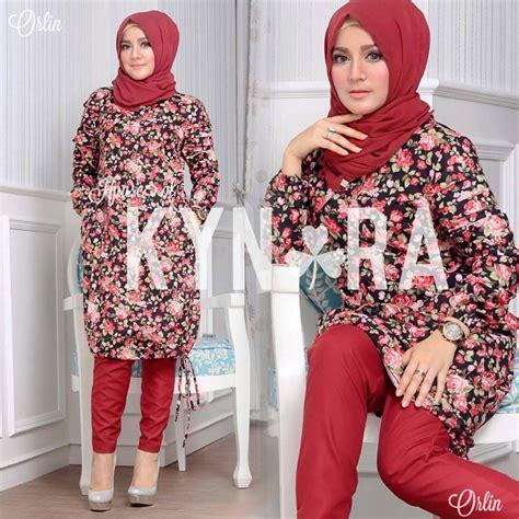 Gamis Syar I Cantik Modern Farida Maroon orlin 3 maroon baju muslim gamis modern