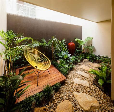 Fortitude Valley   Internal Apartment Courtyard   Tropical