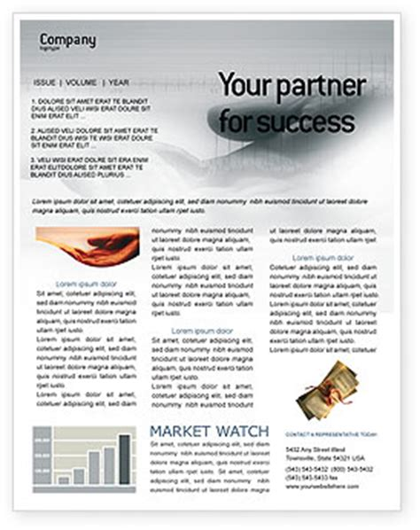 Health Insurance Newsletter Template For Microsoft Word Adobe Indesign Download Now Insurance Newsletter Templates