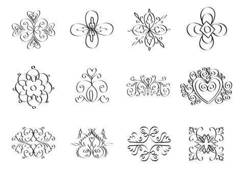 doodle coreldraw doodle ornament vector pack free vector