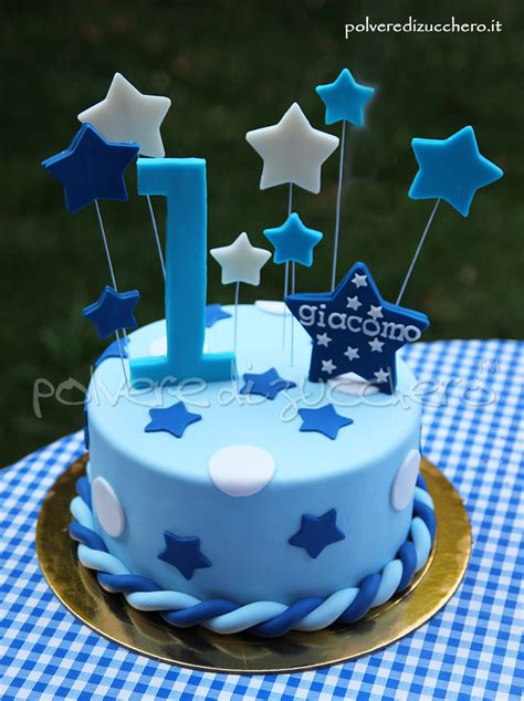 How To Decorate Cake At Home by Torta Decorata 1 176 Compleanno Bimbo Con Stelle In Pasta Di