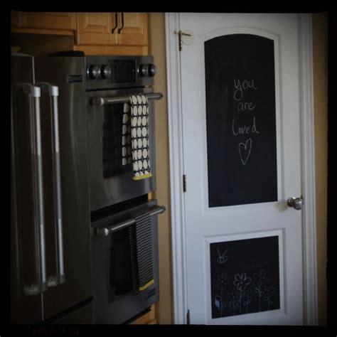 Chalkboard Pantry Doors by Chalkboard Pantry Door Home