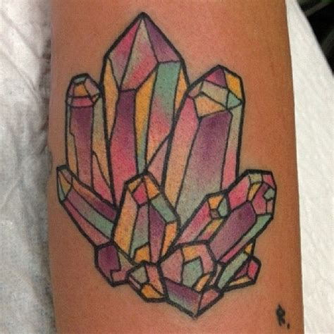 13 best images about crystal tattoo on pinterest first