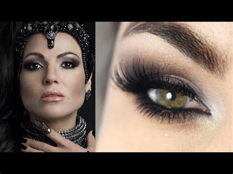 makeup tutorial evil queen makeup regina evil queen de once upon a time youtube