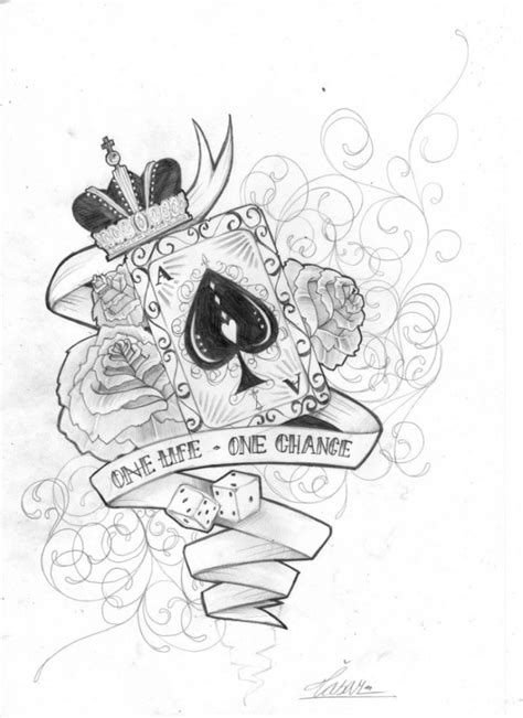 card tattoo design awesome designs drawings tattoos book
