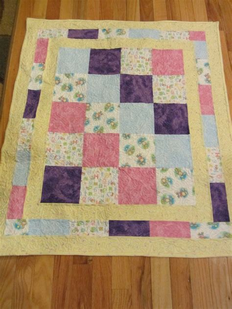 Neutral Baby Quilt by A Sweet Gender Neutral Baby Quilt Quilting