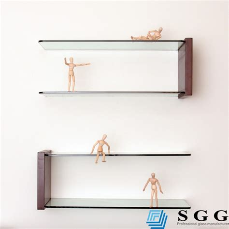 glass wall shelves for living room grade a quality clear decorative glass wall corner shelves