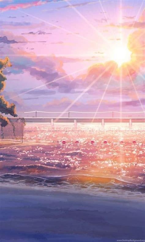 anime sunshine wallpapers desktop background