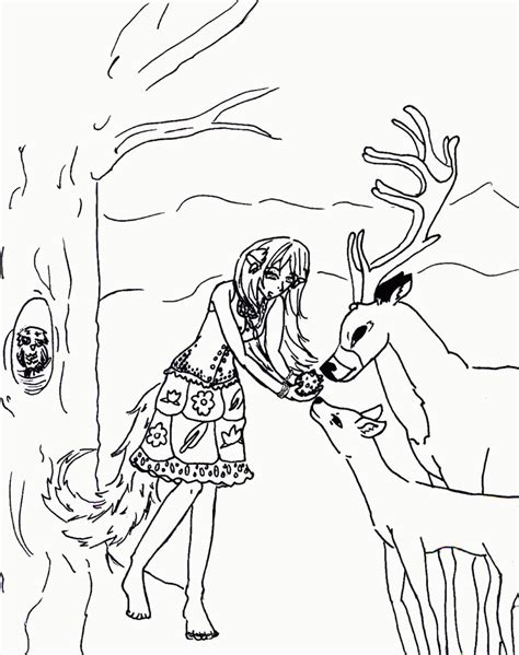 wolf coloring pages pdf anime wolf colouring pages page 2 coloring home