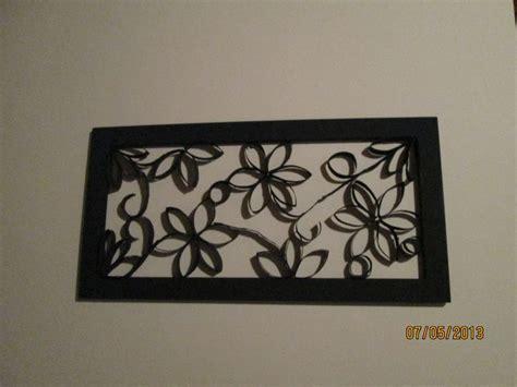cuadros con tubo de papel higinico cuadro elaborado con rollos de papel higienico special