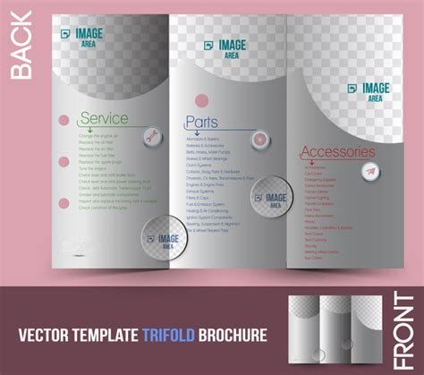 ai brochure template trifold brochure template free vector in adobe illustrator