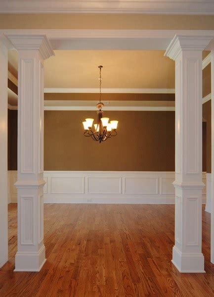interior columns for homes columns perfection never ending remodel pinterest