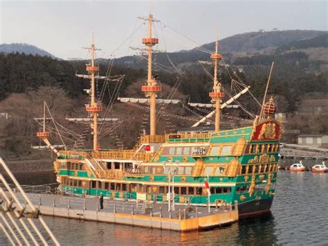boat tour hakone colourful pirate boat picture of hakone sightseeing