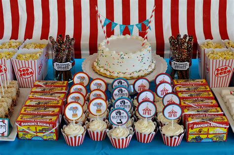 Big Theme big top birthday yem