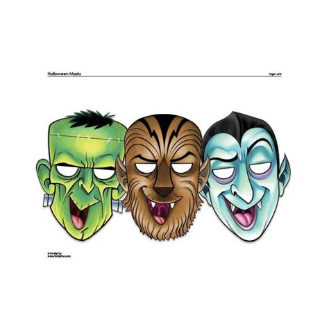 download printable halloween masks free halloween mask templates printable downloads for diy