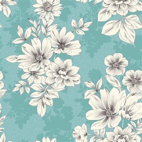 wall pattern floral rasch tivoli flower pattern floral square metallic