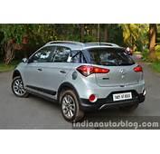 Hyundai I20 Active Diesel Rear Three Quarters Review