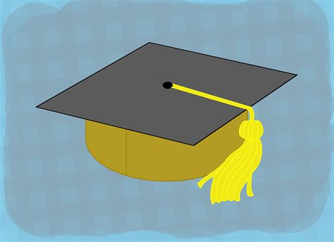 How To Make A Graduation Cap Out Of Paper - how to make your own graduation hats 11 steps with pictures