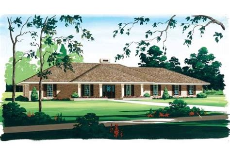 hipped roof house plans house plans ranch hip roof stucco eplans ranch house