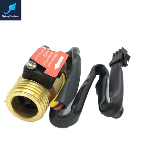 Flow Switch York Promo 1 copper water flow sensor 1 75mpa g1 2 pulse flow