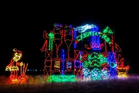 holiday light displays near me drive through christmas lights near san antonio