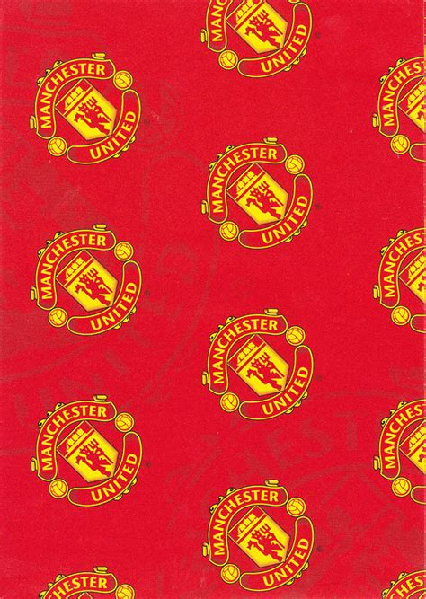 Manchester United Birthday Card Template by Manchester United Gift Wrapping Paper Cardspark