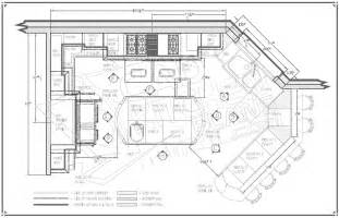 Kitchen floor plans kitchen layouts kitchen drawings kitchen drafting