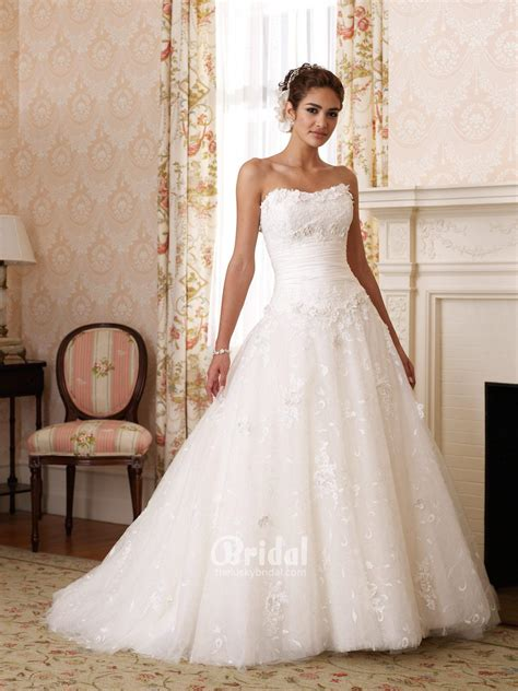princess strapless wedding dresses sang maestro