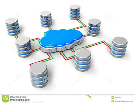 cloud network drive for business cloud computing concept stock photo image 30547510