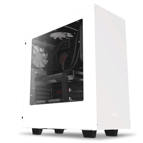 Casing Black s340 compact atx mid tower nzxt