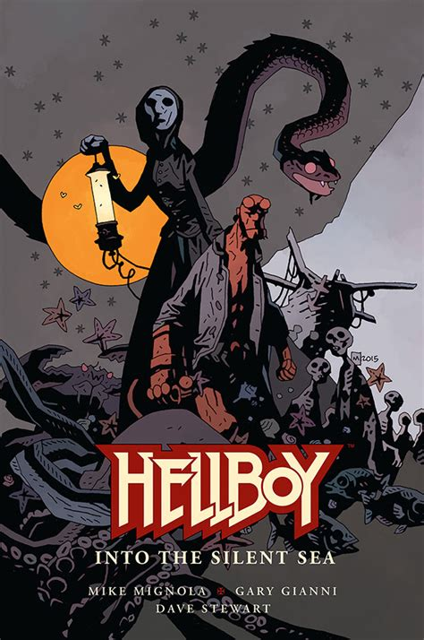 Novel Into The nieuwe hellboy graphic novel aangekondigd into the silent sea