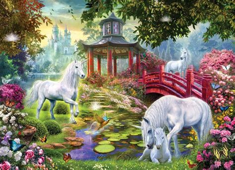 Free Catalog Request Home Decor by Unicorn Summer House Jigsaw Puzzle Puzzlewarehouse Com