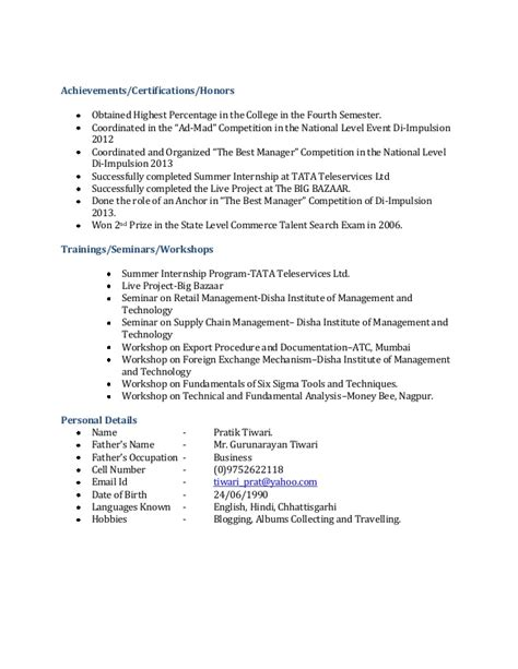 Free Resume Maker For Freshers by Best Free Resume Maker Resume Format For Bca Freshers